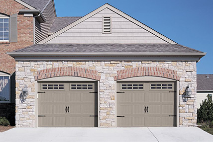 Carriage House Stamped 5283 Bailey Garage Doors